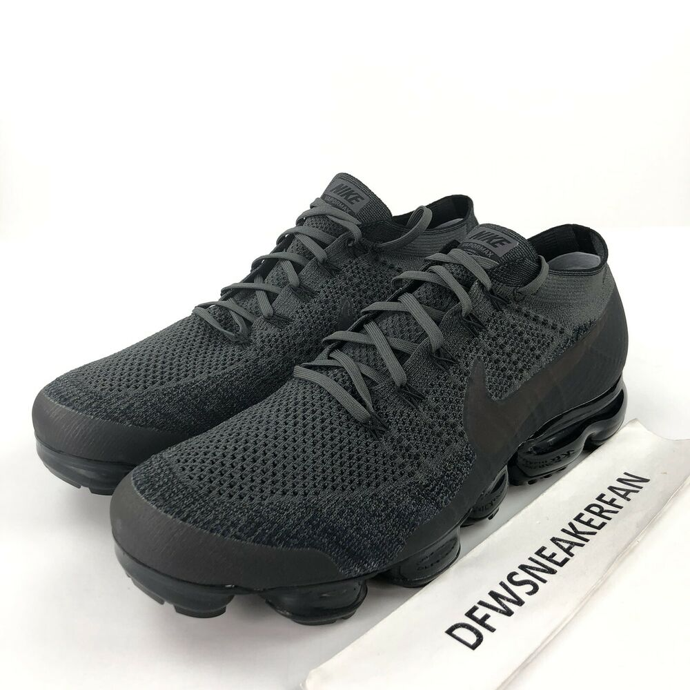 716436f2302c Details about Nike Air Vapormax Midnight Fog Men s 14 Running Shoes 849558-009  New Flyknit