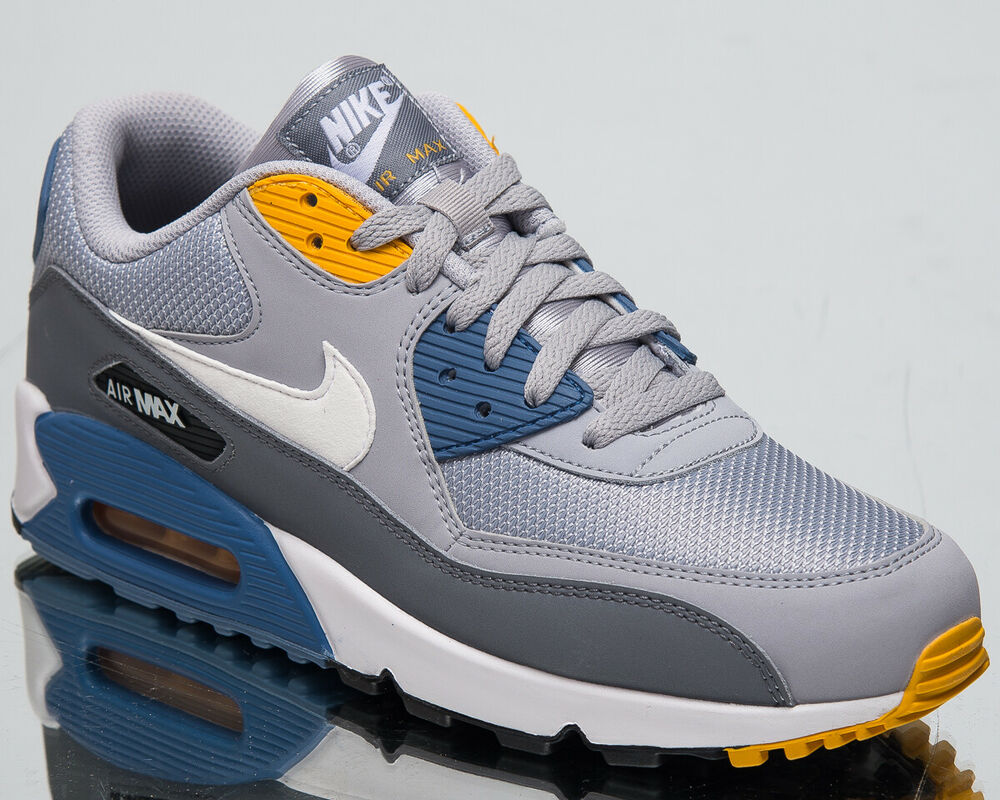 brand new dcc74 93538 Details about Nike Air Max 90 Essential Men s New Wolf Grey White Casual  Sneakers AJ1285-016