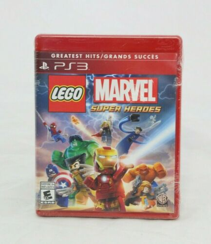 LEGO Marvel Super Heroes (Sony PlayStation 3, 2013) Greatest Hits Bulk Seal NEW