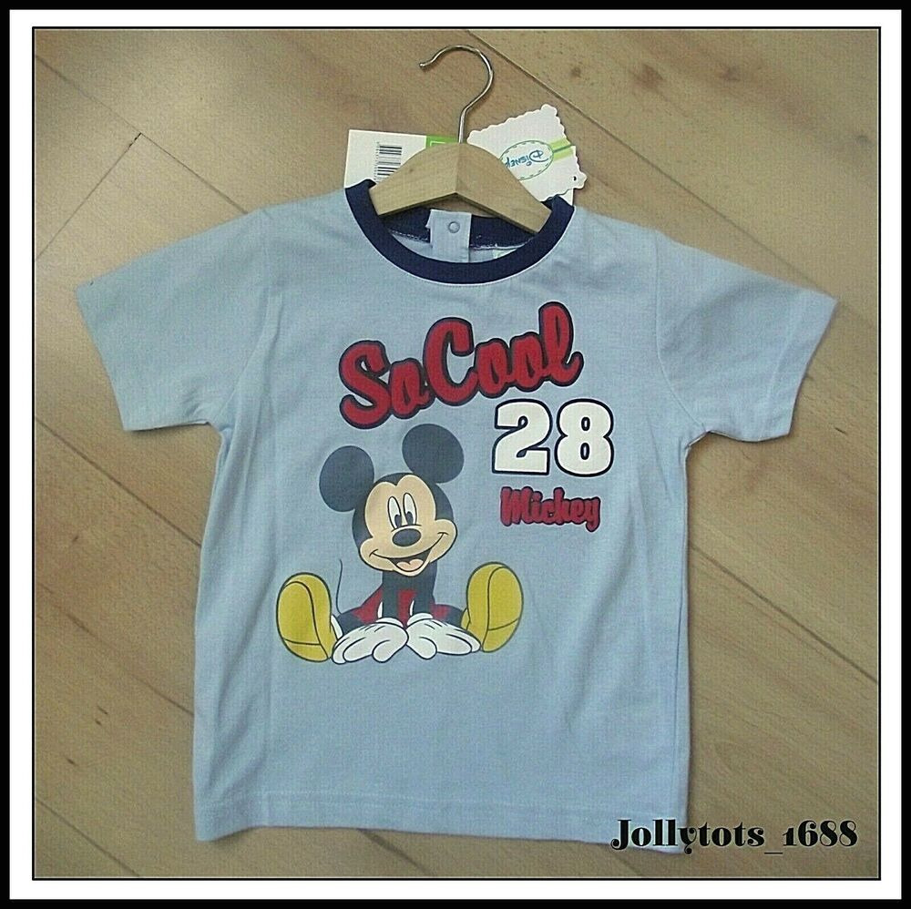 4a9fc2169195 Details about New Baby Boys Disney Mickey Mouse Character Clothing Shorts  Set Pyjamas T-Shirts