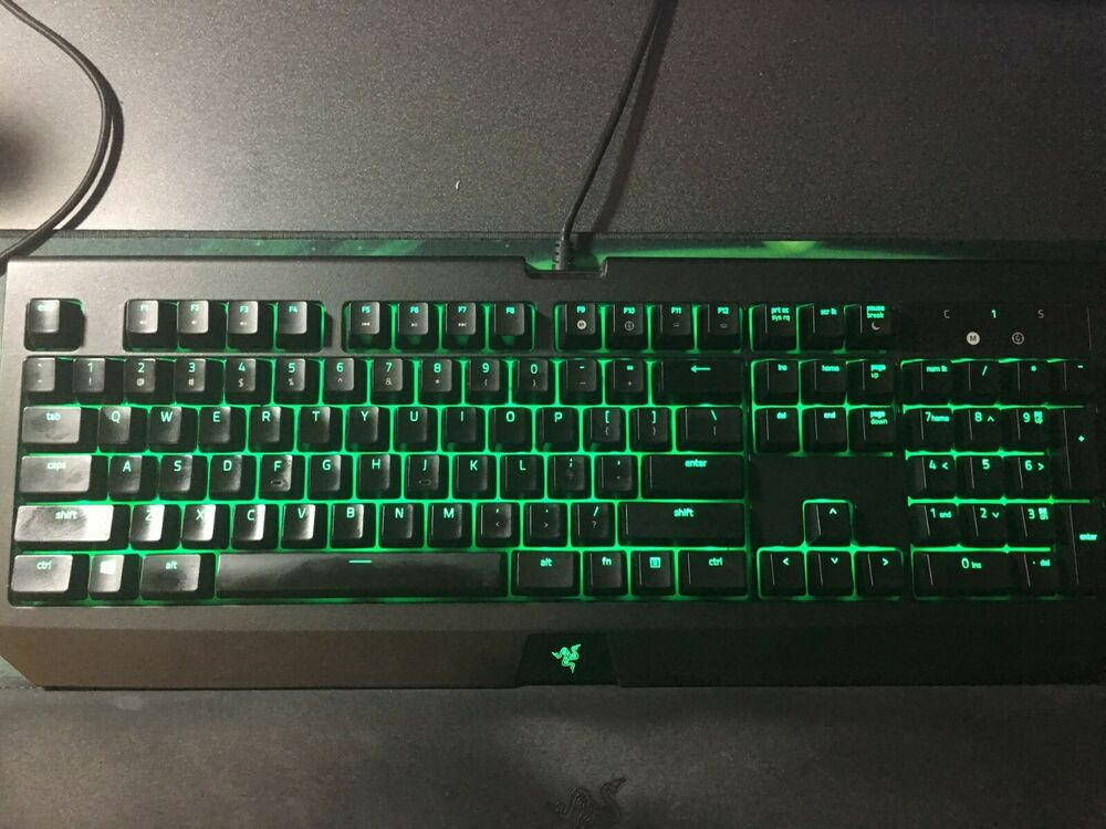 d2afb8f9a3d Details about Razer BlackWidow Ultimate 2018 Mechanical Keyboard Green  Switch US Layout