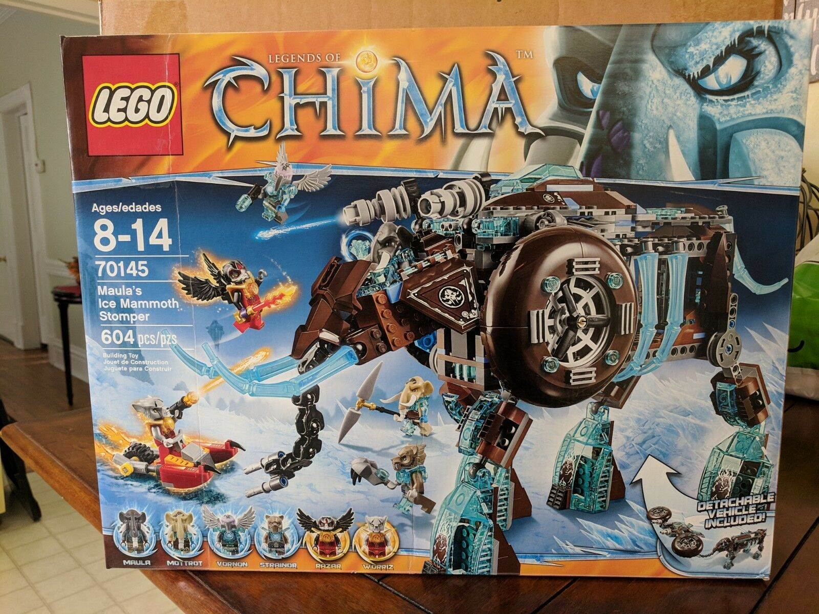 Ean Fire Phoenix Of Chima Lego 70146Flying 5702015124065 Legends fY6yb7g