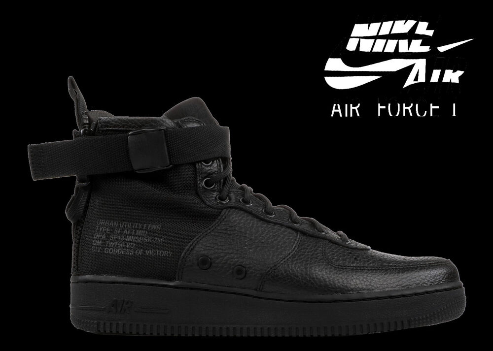 quality design aad57 854ab Details about MEN S NIKE AIR FORCE 1 SF AF1 MID