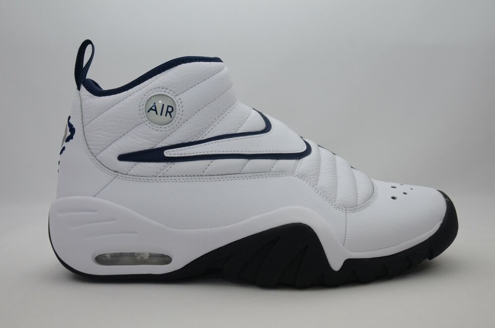 784cb786e85c Details about Nike Air Shake Ndestrukt White Navy Men s Size 7.5-13 New in  Box 880869 102