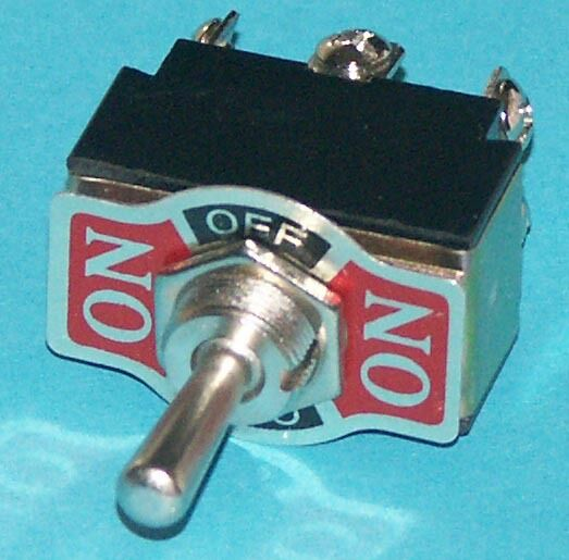 Toggle Switch Dpdt Center Off Momentary One Side On  Off