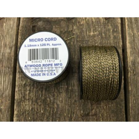 img-MULTICAM CAMO MICRO CORD 125ft SPOOL - 1.18mm Atwood Paracord MTP Survival Kit