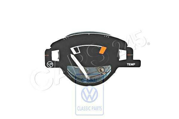 Genuine Volkswagen Temperature Gauge Nos Jetta Rabbit Golf Cabrio