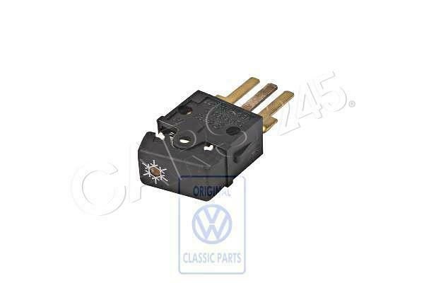Genuine Volkswagen Switch For Air Conditioner Nos Quantum Syncro 32
