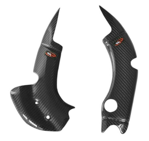 Paratelaio in carbonio Tm Racing 125-144-250-300 2tempi Tekmo smr smr enduro mx
