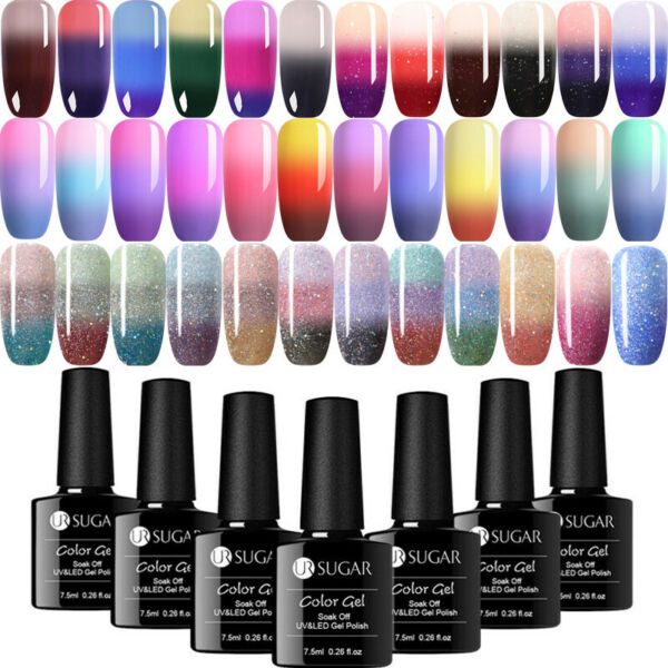 UR SUGAR Thermal Vernis à Ongles Semi-permanent Nail Art UV Gel Polish 7.5ml