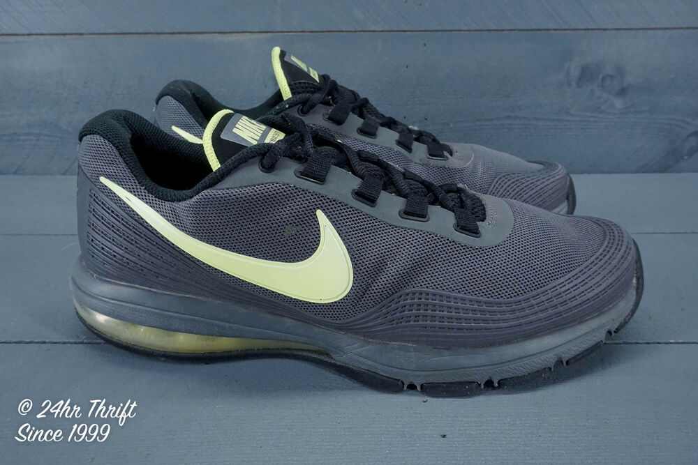 1ae9d295104f0 Details about VGC! Nike Air Max 365 TR Mens Size 10 Training Shoes  Gray Yellow