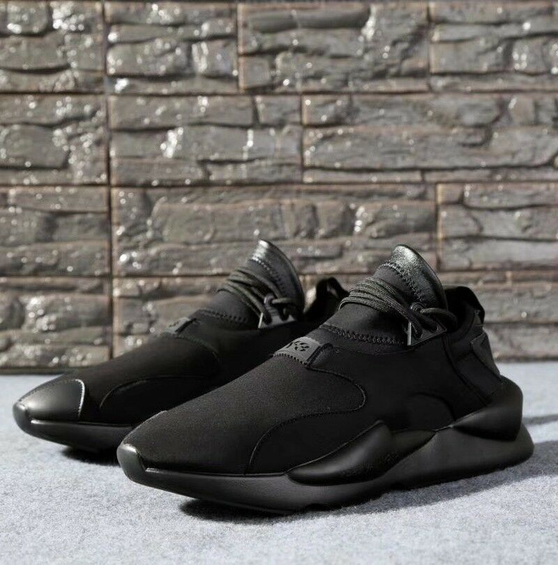 8298ee6298505 Details about NEW Y3 Kaiwa Yohji Yamamoto Boost Lace Up Men s Qasa High Black  Trainers Shoes