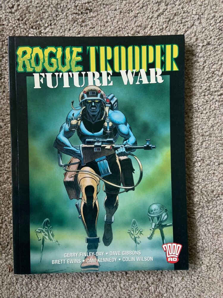 07976b90 Details about Rogue Tropper: War Machine Dave Gibbons Will Simpson Heavy  Metal/Tundra