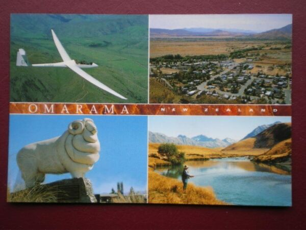 POSTCARD OCEANIA AUSTRALASIA NEW ZEALAND OMARAMA NORTH OTAGO
