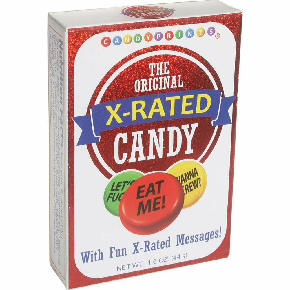 1 Original X-Rated candy gag gift adult novelty table elephant white box