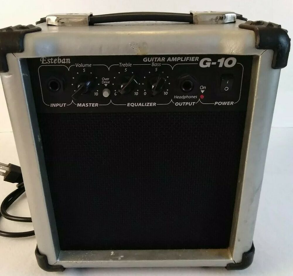 esteban g 10 electric acoustic 12 watt guitar amp amplifier ebay. Black Bedroom Furniture Sets. Home Design Ideas