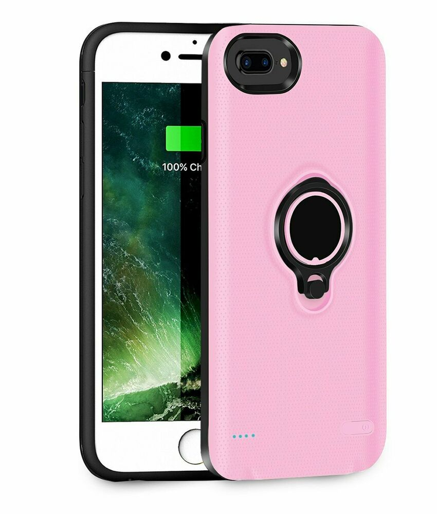 77819a99212 Details about Funda Cargador Iphone 7 Plus 8 Para Case Bateria Portatil  Estuche Protector De