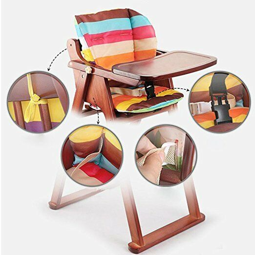 Details About Baby Stroller Car High Chair Seat Cushion Liner Mat Pad Cover Protector Breath
