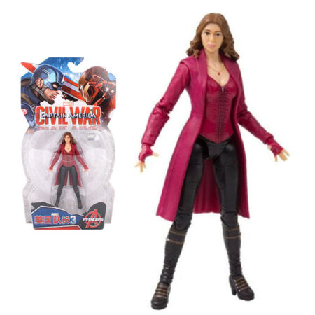 img-Marvel Captain America 3 Civil War Scarlet Witch Figure 7