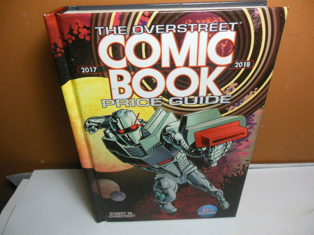 Comics OVERSTREET 2017 2018 COMIC BOOK PRICE GUIDE #47 HARDCOVER