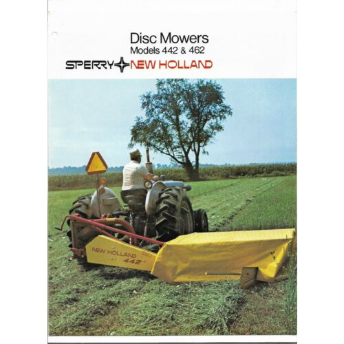 original-sperry-new-holland-442-and-462-disc-mowers-sales-brochure-804a42-07