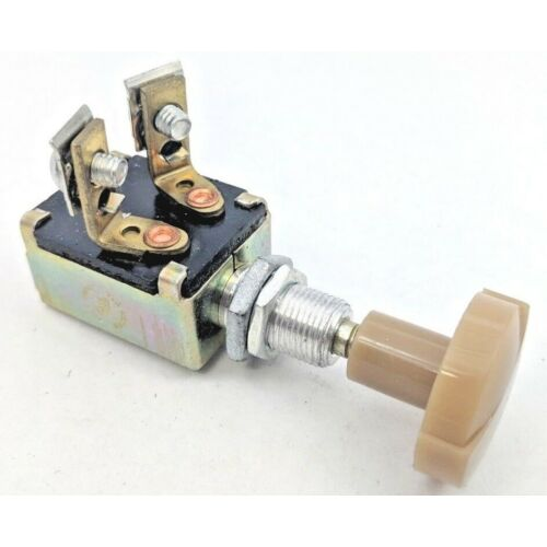 nib-nos-5007-cole-hersee-on-off-two-terminal-push-pull-switch-hot-rod-rat-rod