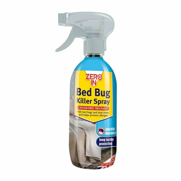 500ml Strong Bed Bug Killer Spray Odour Free Treatment Dust Mites Treatment