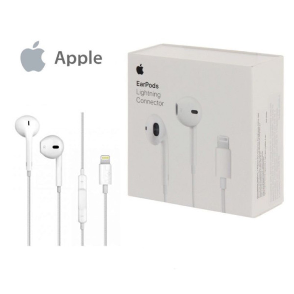 Auricolare Cuffie Originale MMTN2ZM/A Lightning Iphone 7 8 PLUS X XS XR Earpods