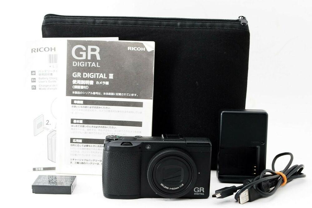 Ricoh GR DIGITAL III 10 0MP Digital Camera w/Box from Japan 4961311853609 |  eBay
