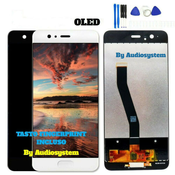 DISPLAY TOUCH SCREEN OLED ORIGINALE HUAWEI P10 PLUS VKY-L09 VETRO SCHERMO +TOOLS