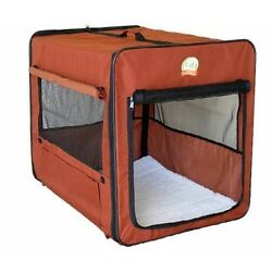 Go Pet Club Soft Dog Crate, 18'', Brown AB18 Dog Crate NEW