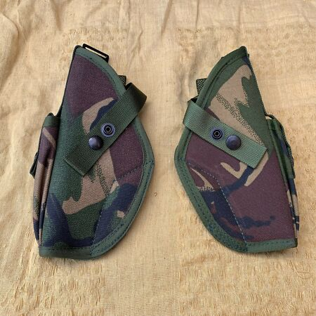 img-UK BRITISH ARMY SURPLUS ISSUE DPM PLCE HOLSTER LEFT & RIGHT HAND WEBBING POUCH