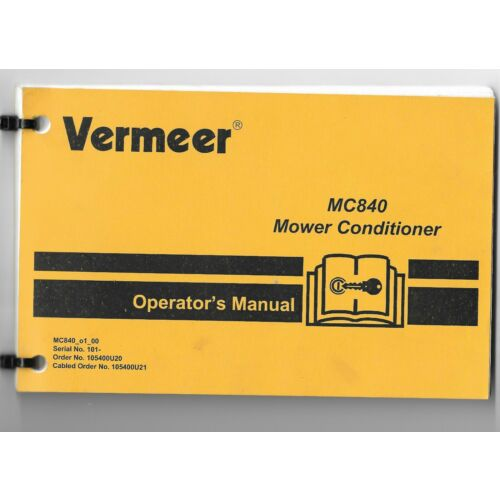 original-oem-vermeer-model-mc840-mower-conditioner-operators-manual-105400u20