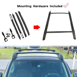 Kyпить For 05-20 Toyota Tacoma Double Cab Luggage Carrier Roof Rack Crossbar Side Rails на еВаy.соm