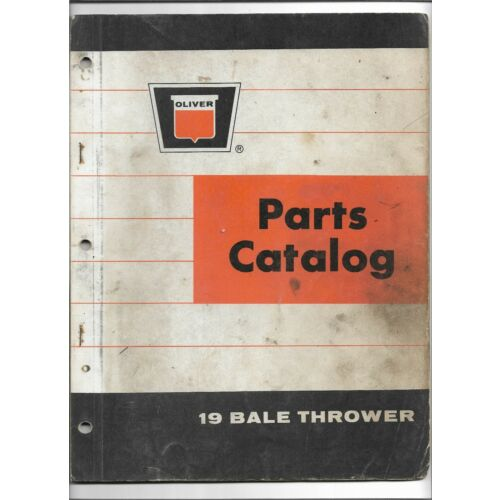 original-oe-oem-oliver-model-19-bale-thrower-parts-catalog-form-number-442-556