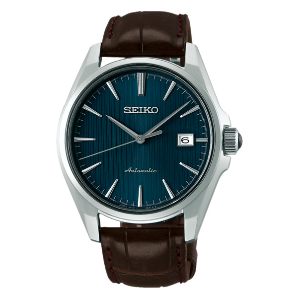 Brand New SEIKO Presage SARX047 Automatic Blue Dial Leather Men's Watch New FR*3
