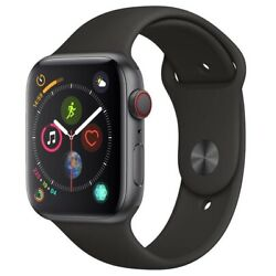 Kyпить Apple Watch Series 4 44 mm Space Gray Case with Black Sport Band GPS + Cellular на еВаy.соm
