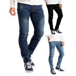 Kyпить Herren Slim Fit Jeanshose Stretch Designer Hose Super Flex Denim Pants на еВаy.соm