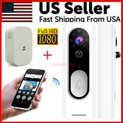 Kyпить Two-Way Door Bell WiFi Wireless Video PIR Doorbell Talk Smart Security HD Camera на еВаy.соm