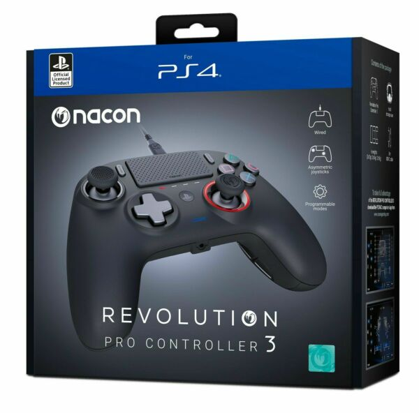 CONTROLLER NACON REVOLUTION WIRELESS V3 PLAY STATION 4 NERO PS4 - PC PAD NUOVO