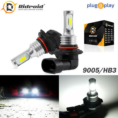 Amazing H10 9145 9140 9005 9045 LED Fog Light Bulbs Conversion Kit OEM 40W 6000K