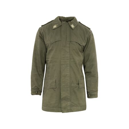 img-GRADE 1 Genuine Italian Army Olive Green Field Parka with Liner D9/10 IPK1