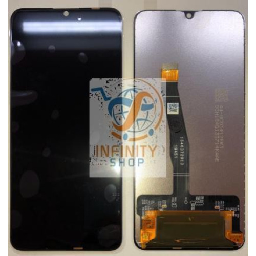 SCHERMO VETRO DISPLAY LCD TOUCH SCREEN PER HUAWEI P SMART 2019 POT-LX1 LX2 NERO