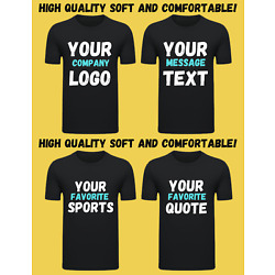T-Shirt - Custom heat printed HQ - Custom Made/Personalized/Your Favorite Photos
