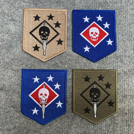 img-US SPECIAL FORCES MARSOC MARINE RAIDERS TACTICAL MORALE EMBROIDERED PATCH USMC
