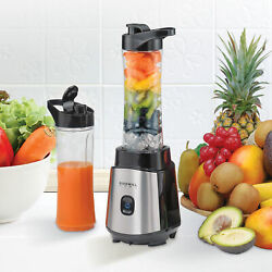 Kyпить Personal Blender Smoothie Juice Shakes Mixer 2 Portable Bottle 300W BPA-Free New на еВаy.соm