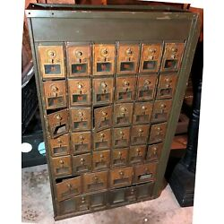 Kyпить VINTAGE ANTIQUE POST OFFICE MAIL BOXES SET на еВаy.соm