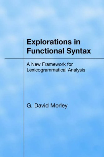Royaume-UniMorley- In Functional Syntax BOOKH NEUF