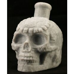 Kyпить Mayan / Aztec Death Whistle White Marble Skull *** MADE IN USA *** на еВаy.соm