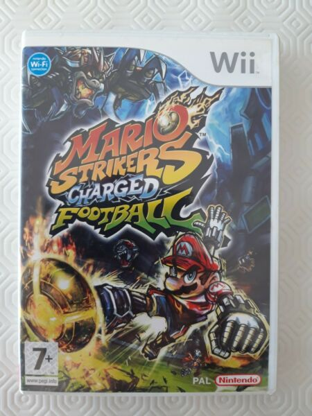 Wii - Mario Strikers Charged Football complet avec notice